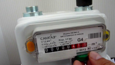 Рада продлила срок установки счетчиков газа бытовым потребителям