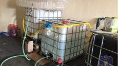 В Киеве выявили подпольный мини-спиртзавод