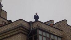 Саакашвили рассказал свою версию побега на крышу