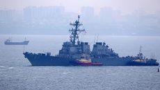 В Одессу зашел американский эсминец