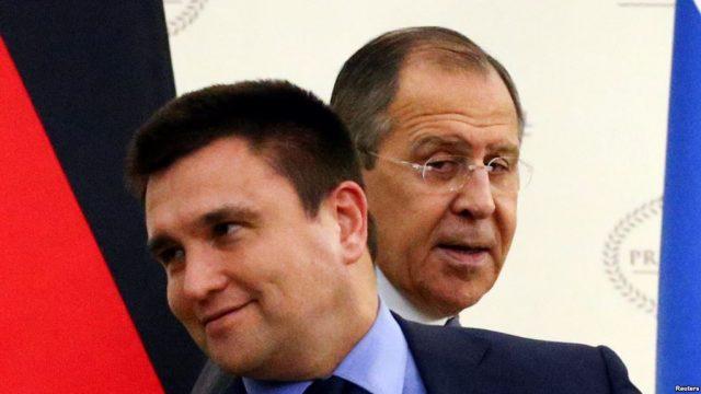 Климкин обсудил с Лавровым обмен заложниками