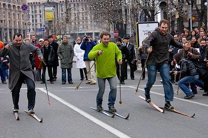 Украина – «лыжный лидер» Европы