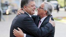 Глава ЕК не видит разницы между Порошенко и Зеленским