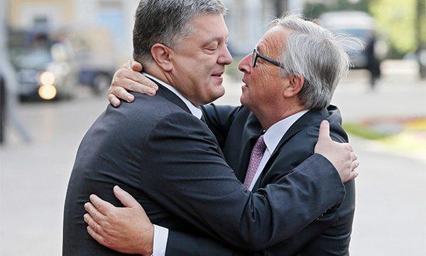 Порошенко обсудил с Юнкером Антикоррупционный суд