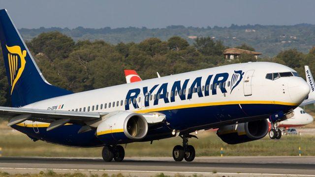 Ryanair откроет рейсы из Киева в Мадрид