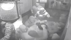 Как спецназ задерживал Саакашвили в ресторане (ВИДЕО)