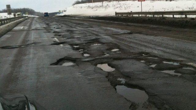 Украинские дороги планируют бетонировать