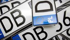Водителей на авто с еврономерами оштрафовали на 170 млн грн