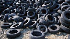 В Украине накапливается около 150 тыс. тонн использованных автопокрышек