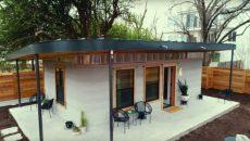 В США занялись строительством домов с помощью 3D-принтера