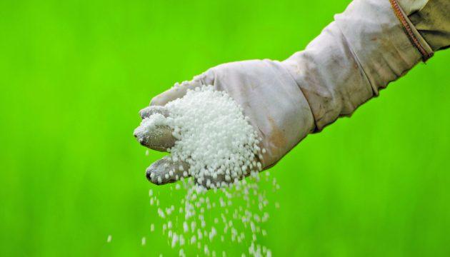 Аграриям понадобился 1 млн тонн минудобрений
