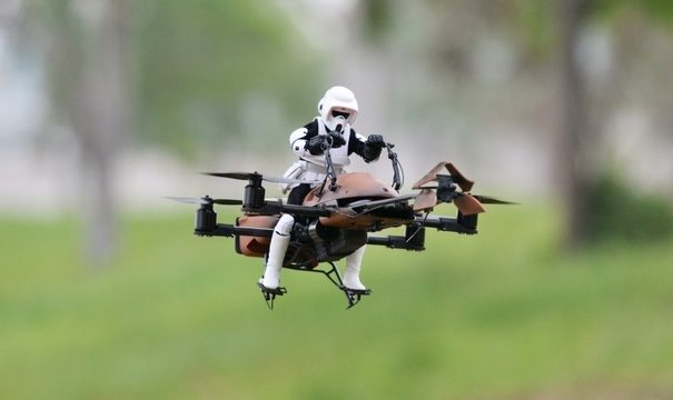 Заряжать дроны можно будет лазером