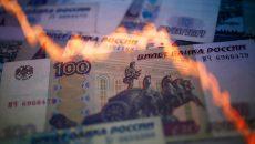 В России третий день продолжается обвал рубля