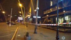 Киевгорстрой списал обстрел здания из гранатомета на конкурентов