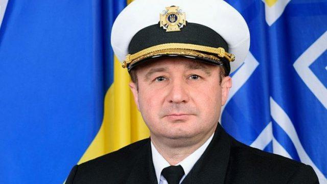 МО сняло с должности начальника штаба ВМС