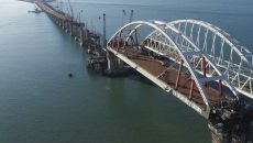 Порошенко приветствует санкции ЕС по Крымскому мосту