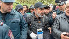 Лидера протестов в Армении задержали