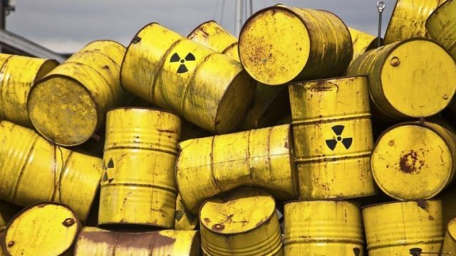 Рада приняла за основу закон о радиоактивных отходах