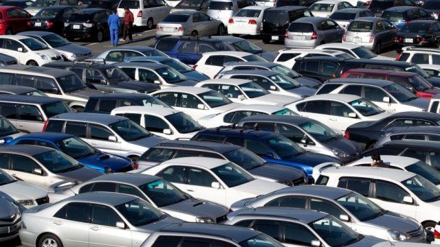 В Украину попали 25,2 тыс. б/у авто