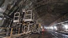 Бескидский тоннель заработает с июня