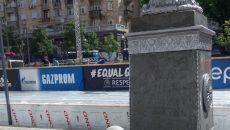 В Киеве разразился рекламный скандал с российским следом