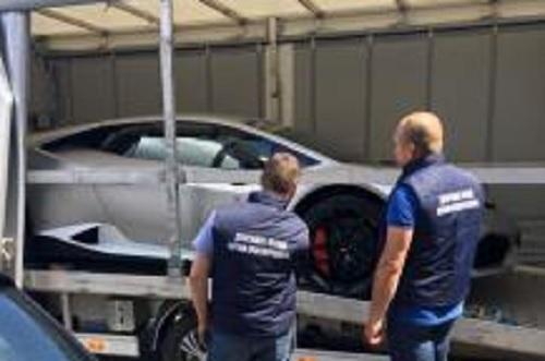 В Украину пытались тайно провезти Lamborghini стоимостью 200 тыс. евро