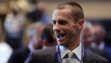 Президент УЕФА доволен финалом ЛЧ в Киеве