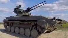 В Украине испытали боевой модуль Дуплет