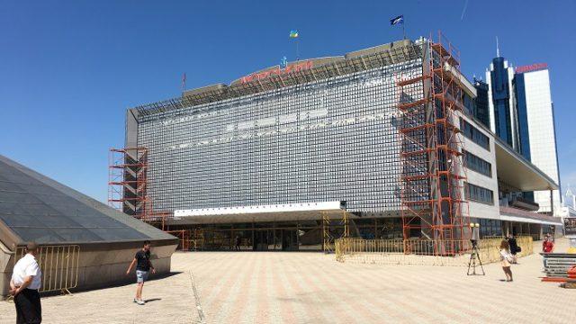 Реконструкция Одесского морского вокзала завершена