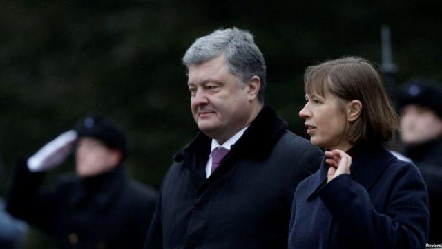 Президент Эстонии назвала ситуацию в Украине войной