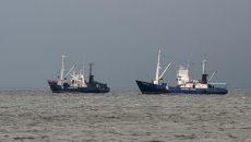 Россия перехватила в Азовском море 7 торговых судов