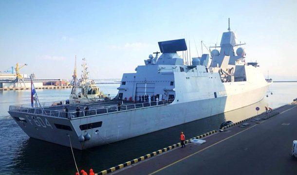 В Одессу заходят корабли НАТО
