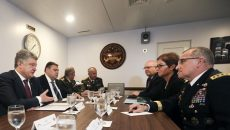 Порошенко встретился с главнокомандующим ВС США