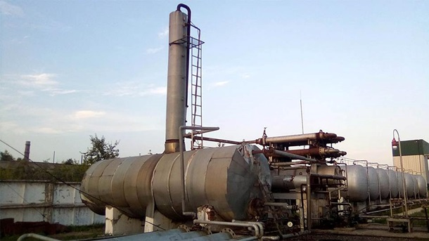 СБУ прикрыла незаконное производство топлива на Донбассе