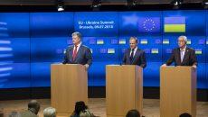 Украина подтвердила стратегическое партнерство с ЕС