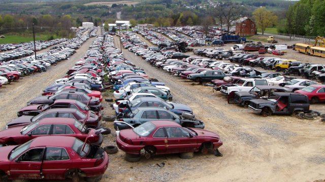 В Украине растет спрос на подержанные легковые автомобили