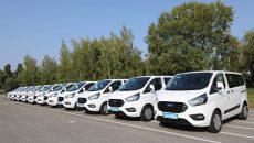 США подарили украинской полиции 11 автомобилей