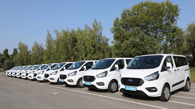 Подразделения полиции в областях получили 29 автомобилей