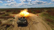 В Киеве испытали модернизированный танк