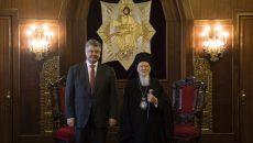 Порошенко обсудил со Вселенским патриархом Варфоломеем автокефалию