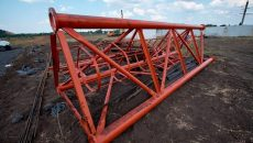 В Донецкой области начали строить новую телевышку