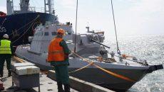 Украинские бронекатера начали патрулировать Азовское море