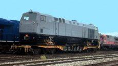 Второй локомотив приплывет в Украину 25 сентября