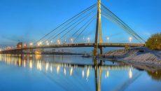 Киев отремонтирует мост на Троещину
