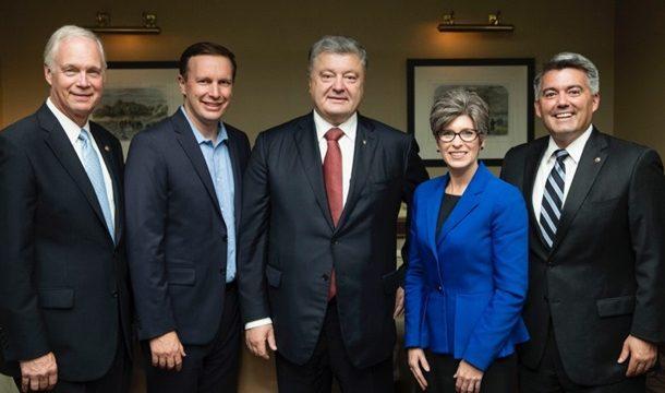 Порошенко встретился с делегацией Конгресса США