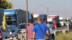 В Полтаве автомобилисты перекрыли трассу