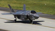 Истребитель F-35 разбился в штате Южная Каролина