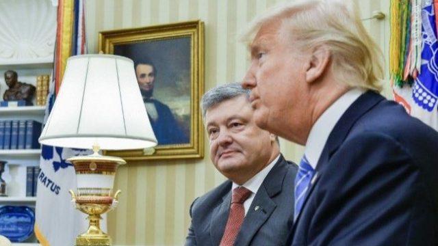 Порошенко заявил о поддержке посла США
