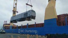 В Украину прибыл первый локомотив General Electric