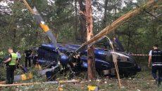 В Киеве разбили один из самых дорогих в Украине вертолетов